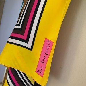 Yves Saint Laurent Accessories - Saint Laurent scarf ❤️